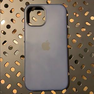 Like new navy iPhone 12 Apple case silicone